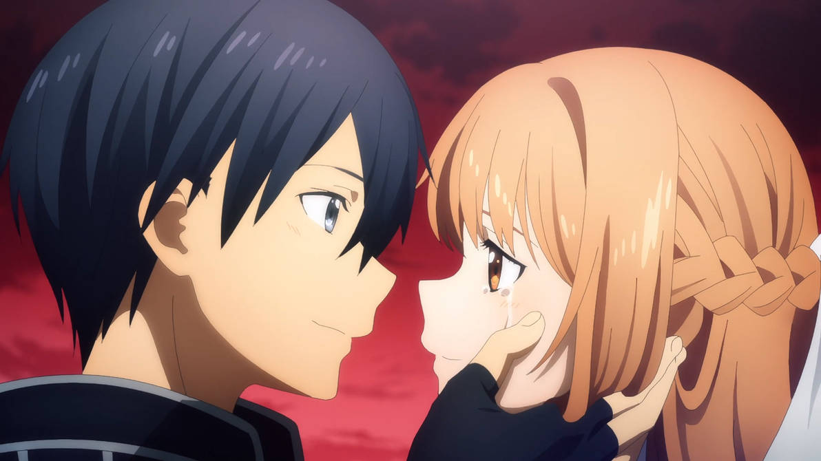 Our Reaction to Asuna's and Dominator's Actions 02