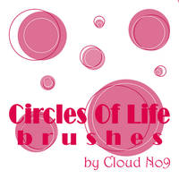 CirclesOfLife Brushes by cloud-no9