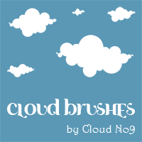 Cloud Brushes ver.1 for PS 7.0 by cloud-no9