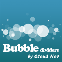 Bubble Dividers by cloud-no9