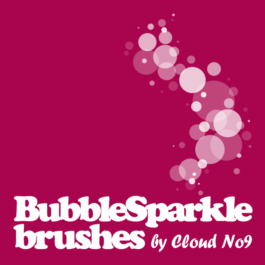 BubbleSparkle Brushes by cloud-no9