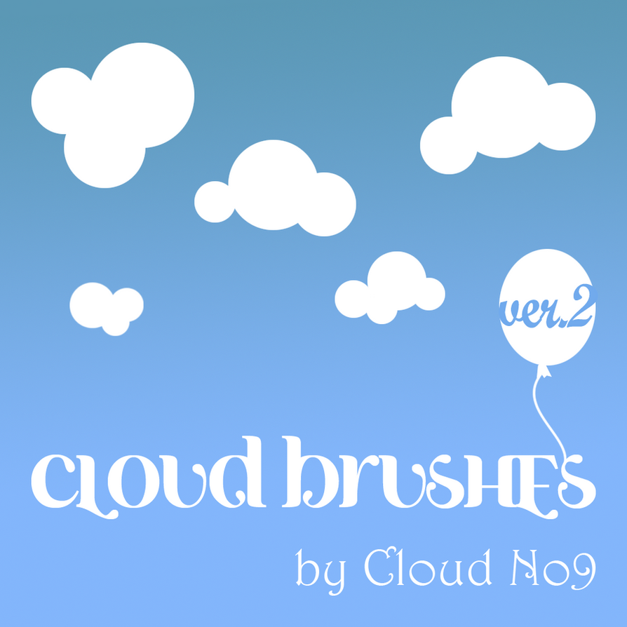 Cloud Brushes ver.2 by cloud-no9