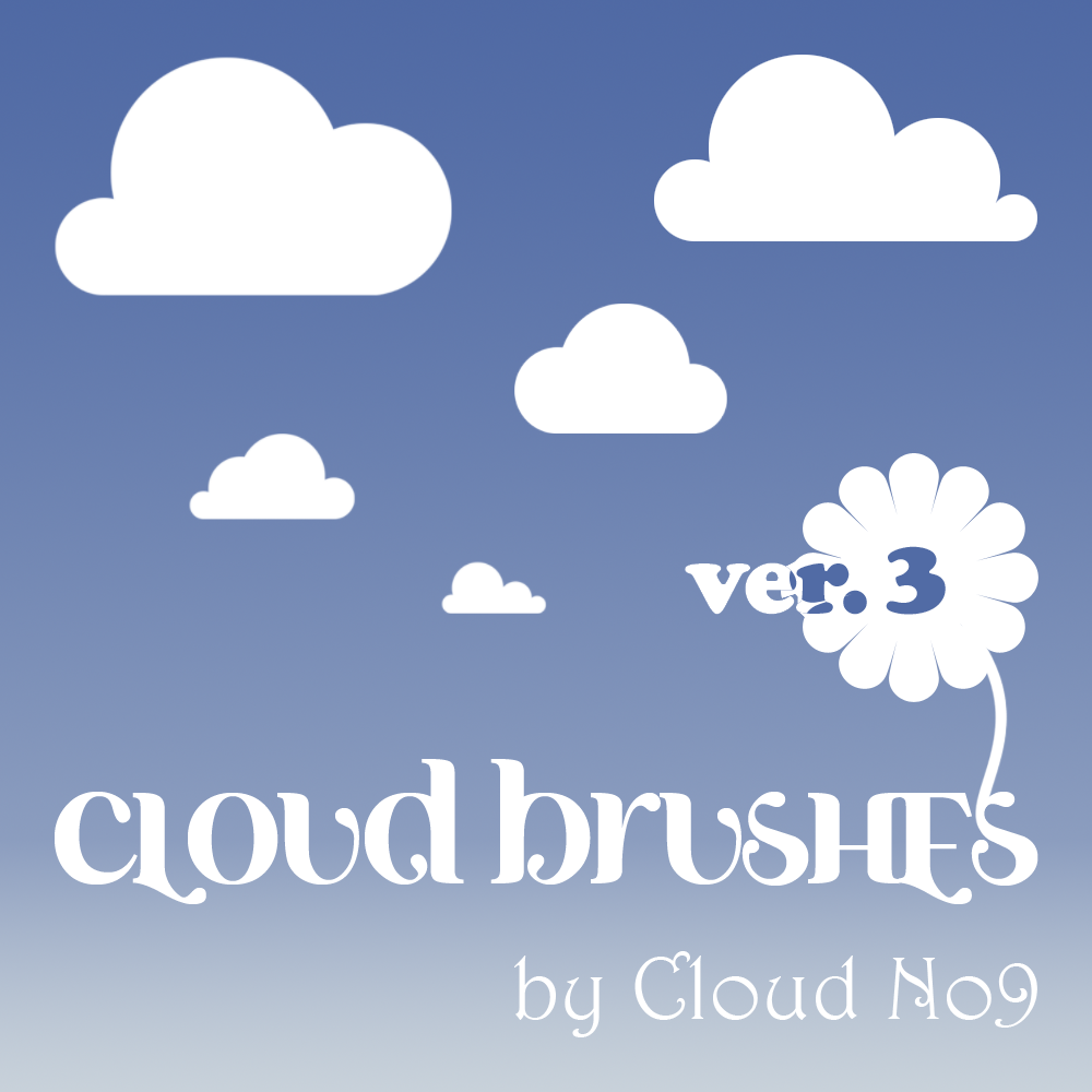Cloud Brushes ver.3