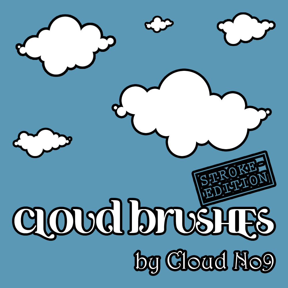 Cloud Brushes ver.1 Stroke Edi by cloud-no9