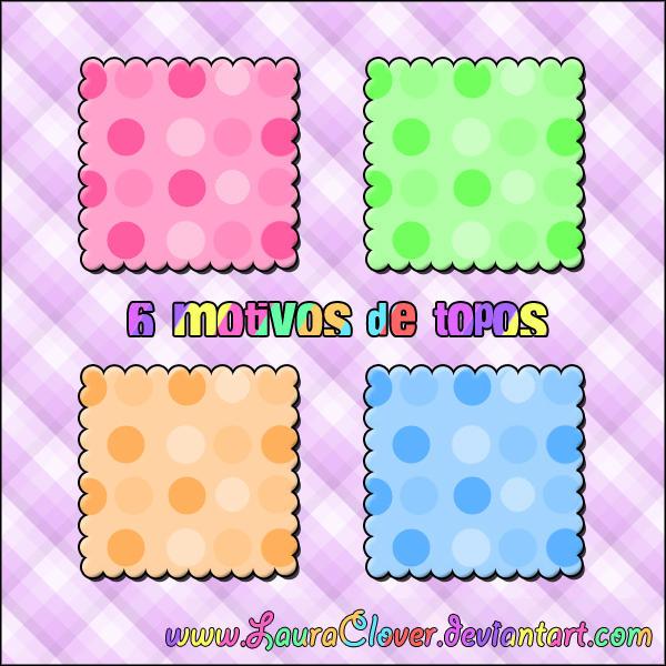 Motivos de topos by LauraClover