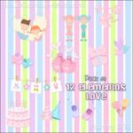 Pack Elementos Love