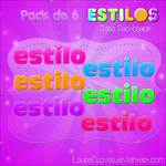 Pack de Estilos de Colores
