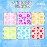 Motivos Florales by LauraClover