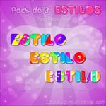Pack de Estilos multicolor
