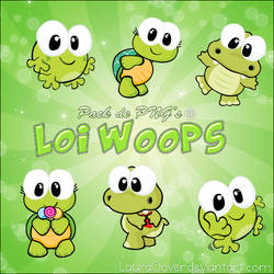 Pack de PNG's Loi Woops by LauraClover