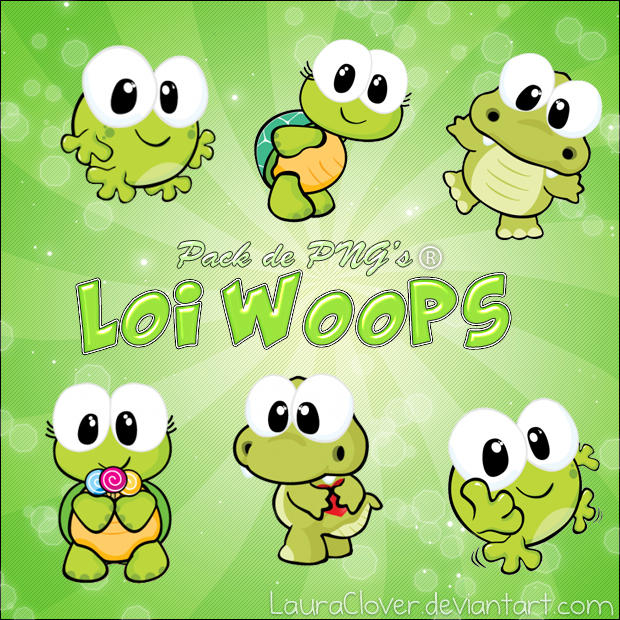 Pack De Pngs Loi Woops By Lauraclover On Deviantart