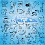Pack de brushes de Animalitos