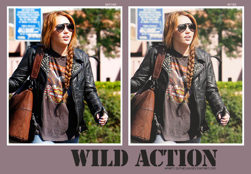 Wild action by apartyintheUSA