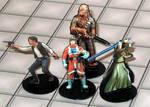 2-D paper miniatures: Rebels