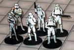 2-D paper miniatures: StormTroopers