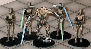 2-D paper miniatures: Seperatists