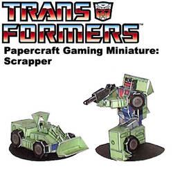 Transformers-Scrapper