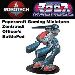 Zentraedi Officer Pod