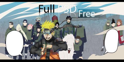 Naruto PSD free+Plus by valvicto4