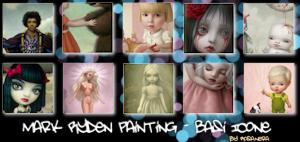 Mark Ryden Painting-Basi Icons by rosanera89