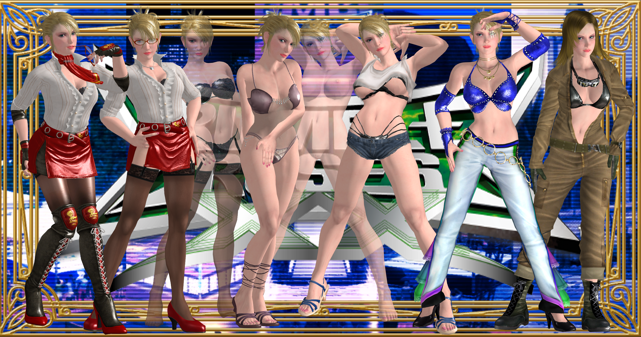 Rumble Roses XX - xbox360 - Walkthrough and