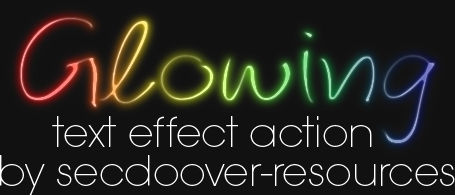 Glowing Text Effect