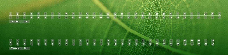 Dateline for XWidget by xwidgetsoft