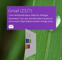 Windows8 MetroUI GMail by xwidgetsoft