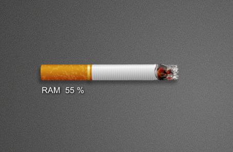 Cigaret RAM Monitor
