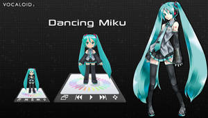 Dancing Miku Player for XWidget by Ruby
