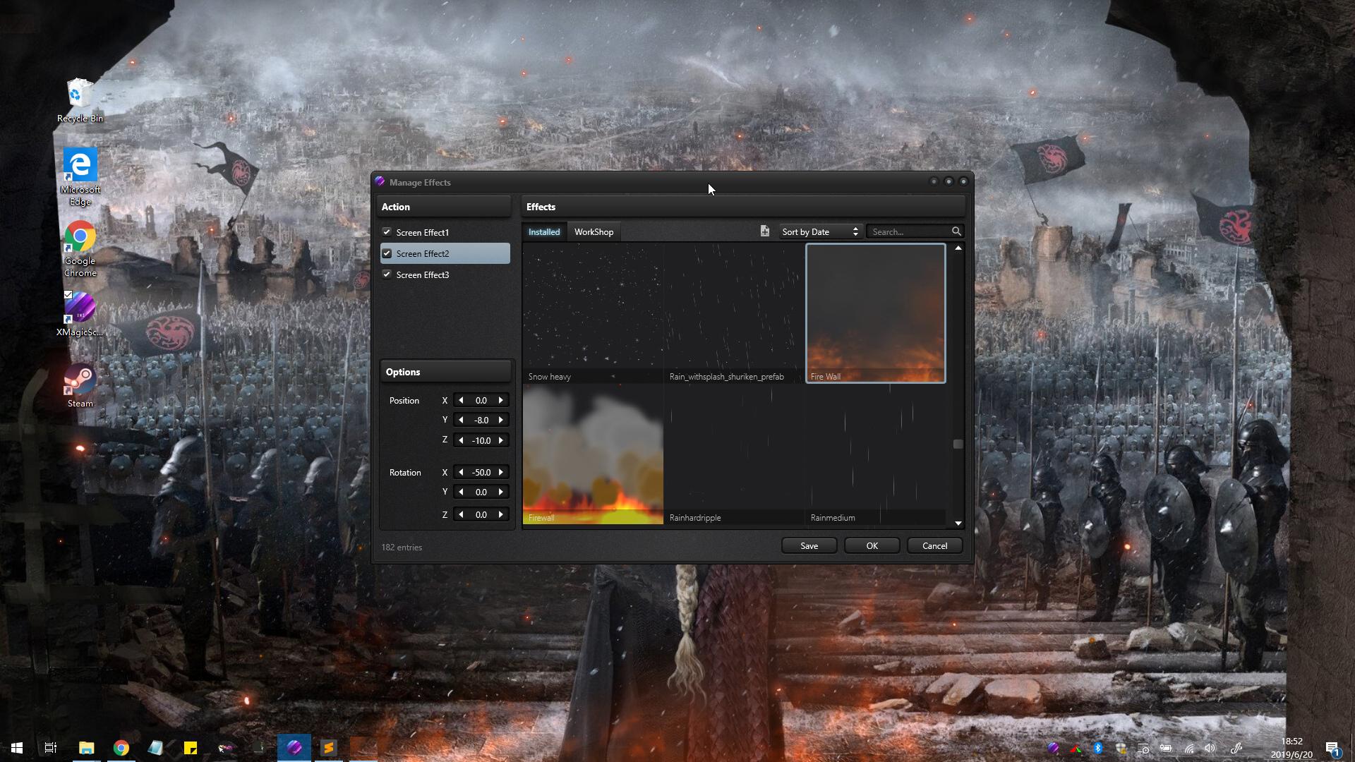 XMagicScreen - Bring your desktop to life