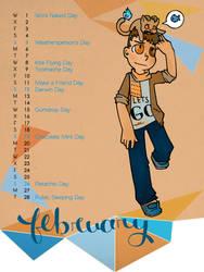 Odd Holidays Calendar is here! by LostbunniesofWendy