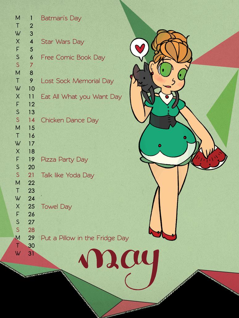 Go, go, go, May! by LostbunniesofWendy