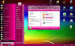 Pink Leo Theme for Windows7