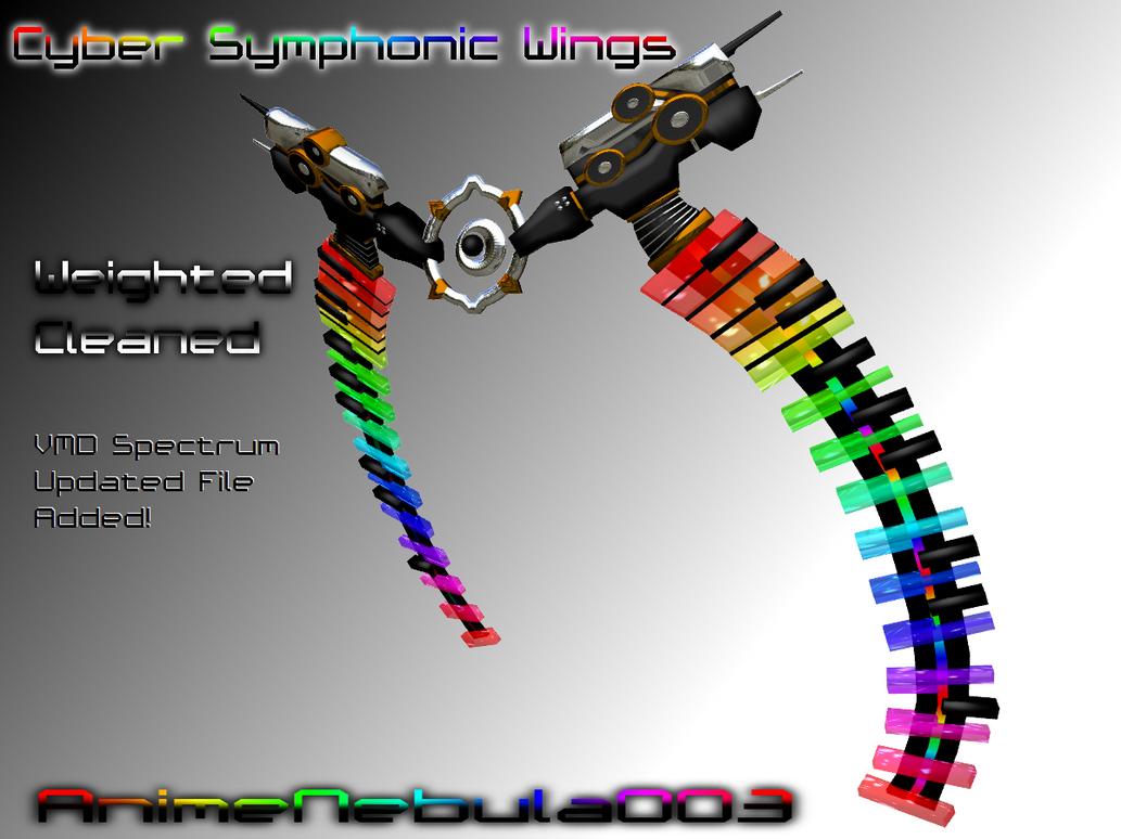 Cyber Symphonic Wings DL by AnimeNebula003