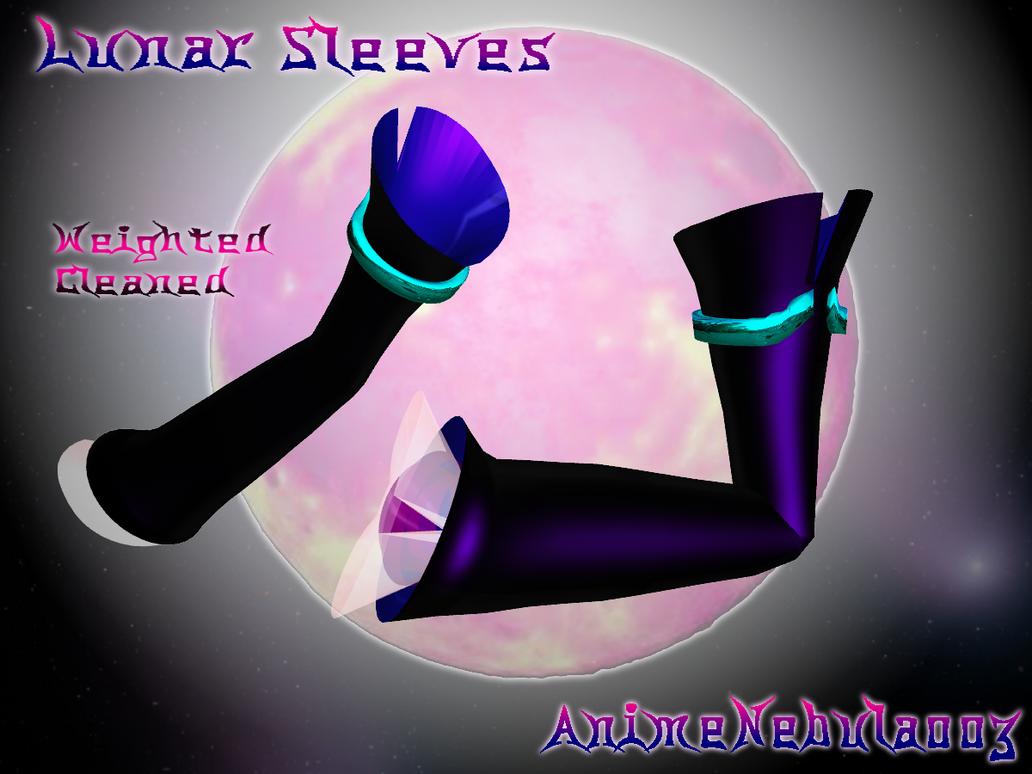 Lunar Sleeves - AN003 by AnimeNebula003