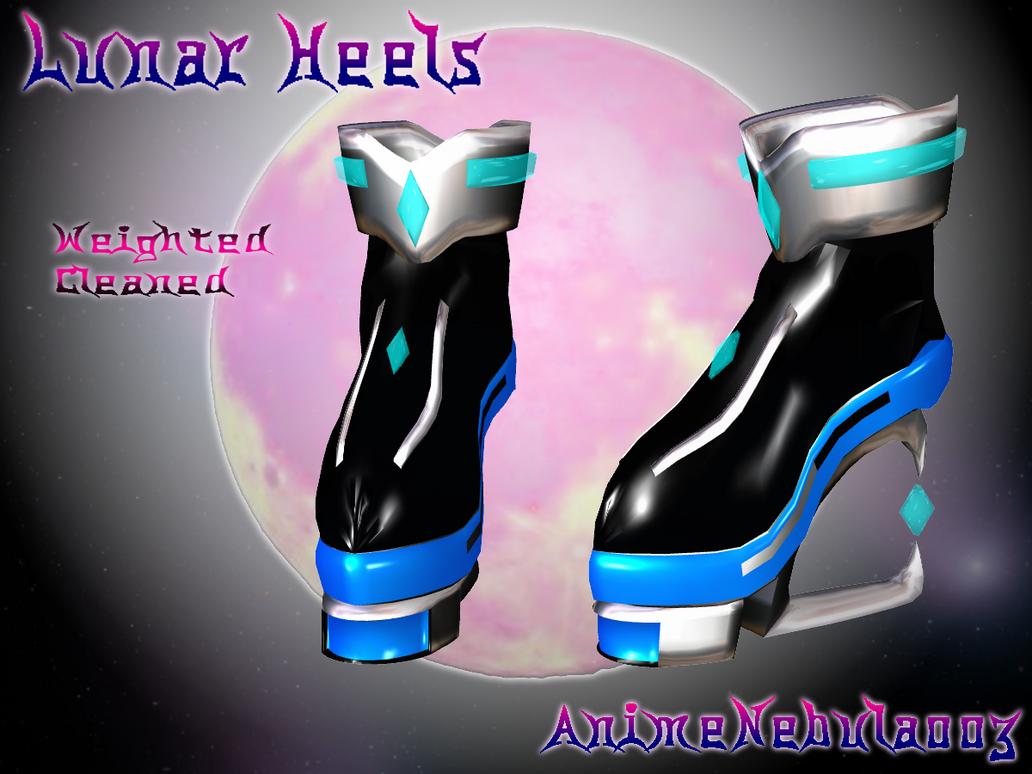 Lunar Heels - AN003 by AnimeNebula003