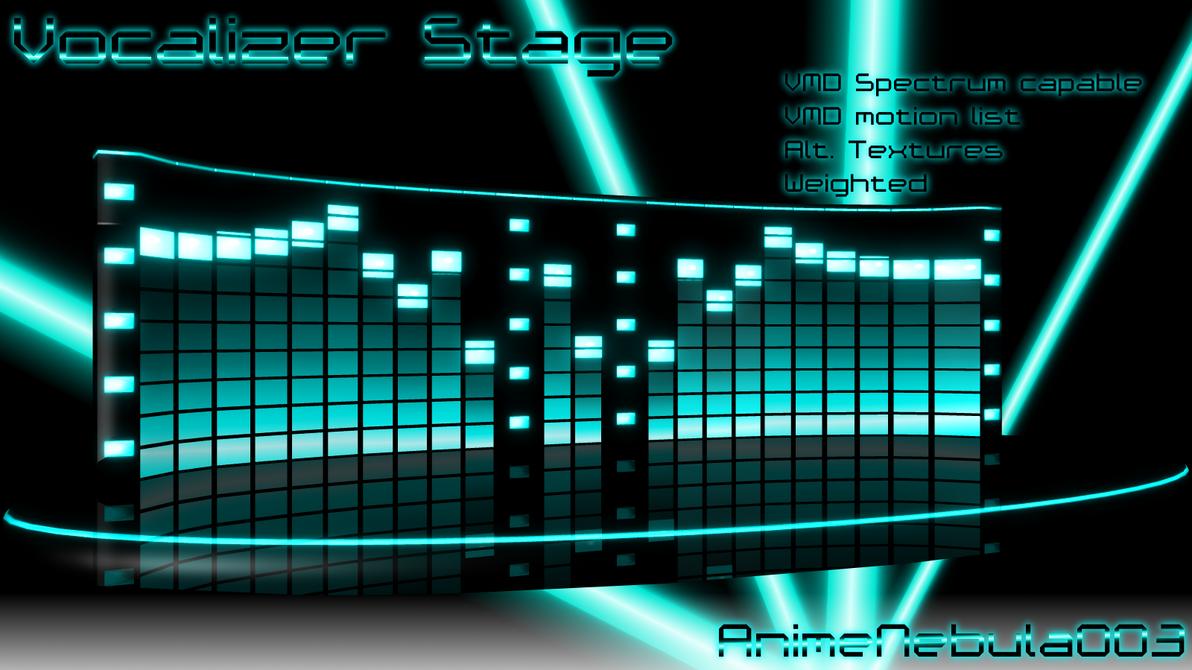 Vocalizer Stage  - AN003 by AnimeNebula003