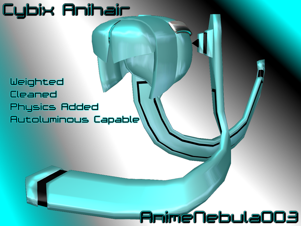 Cybix Anihair - AN003 by AnimeNebula003