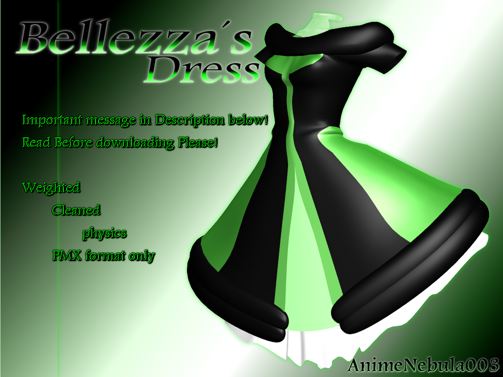 Bellezza's Dress - AN003 by AnimeNebula003