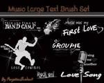 Music Photoshop Brushes