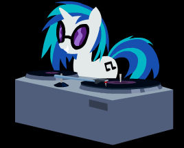 DJ PON-3 Is Best Pony