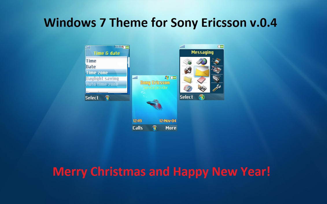 windows 7 theme for se v04 by misaki2009