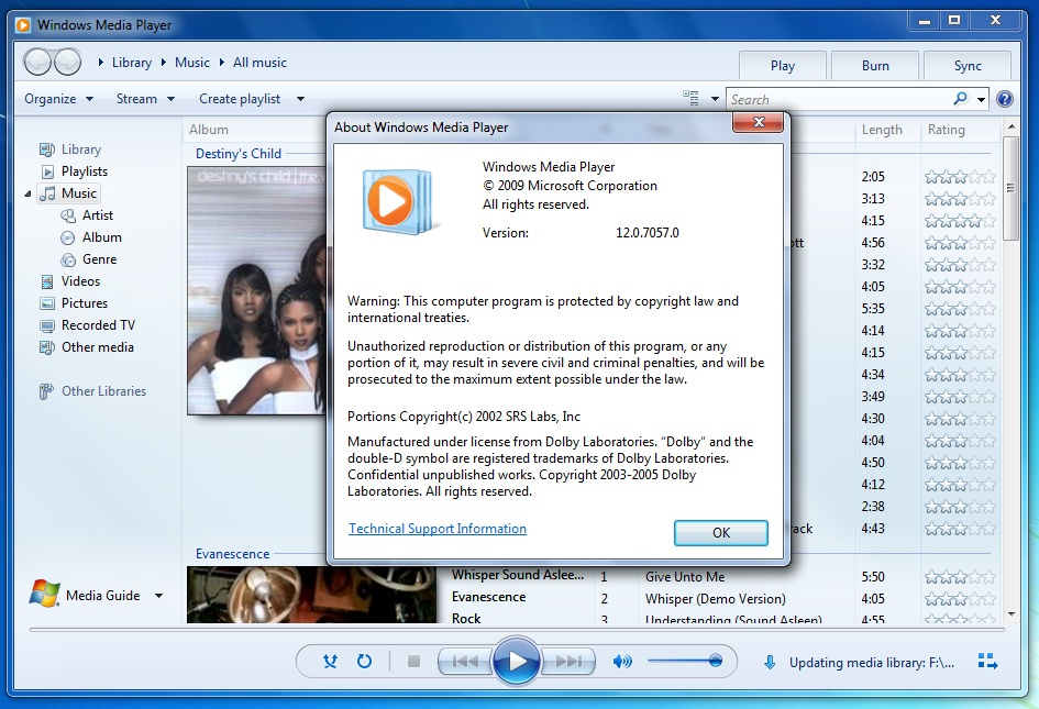 download windows media player 12 windows 7