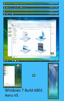 Windows 7 Build 6801 Aero