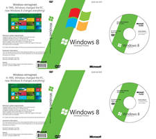 Windows 8 Build 8102 DVD Cover