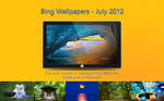 Bing Wallpapers - July 2012