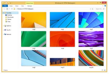 Windows 8.1 RTM Wallpapers
