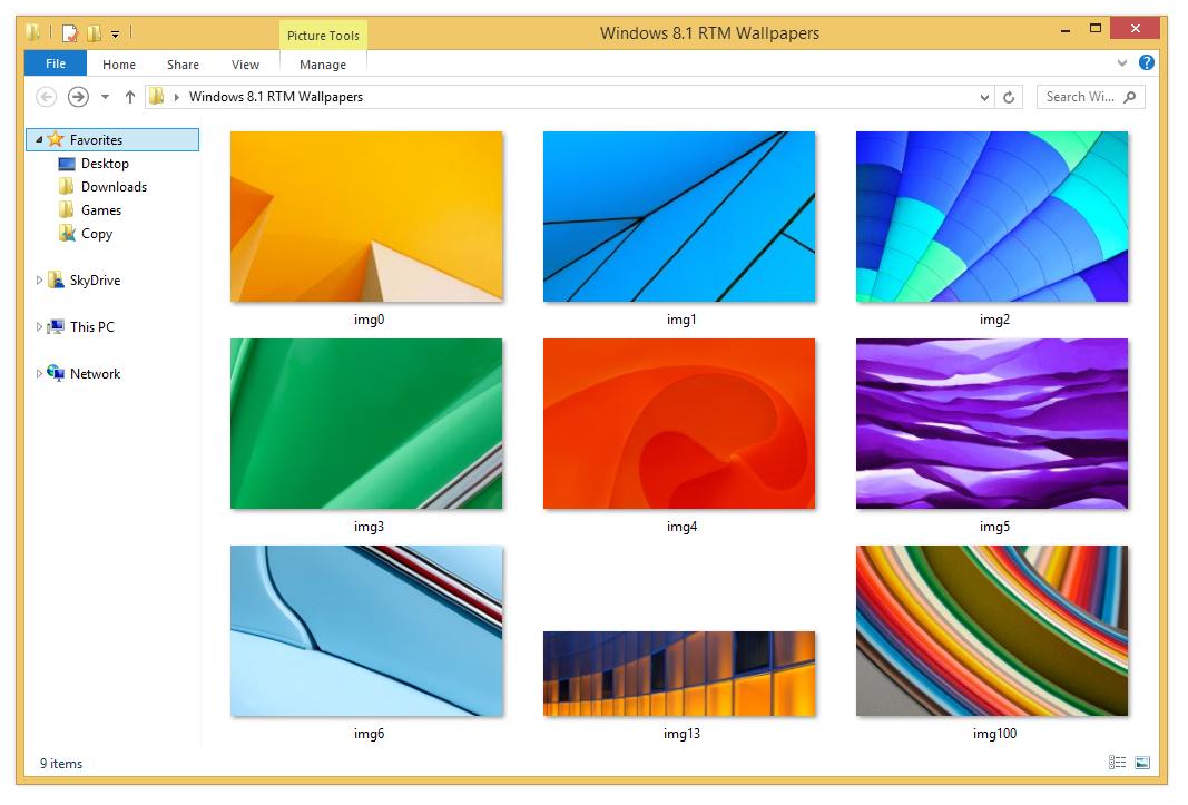 Windows 8 1 Rtm Wallpapers By Misaki2009 On Deviantart