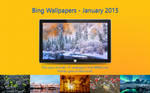 Bing Wallpapers - January 2015